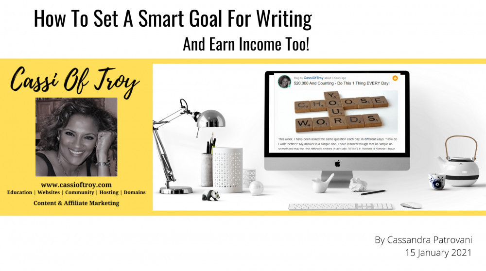 How to Set a SMART Goal for Writing