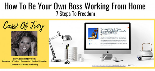 Cassi Of Troy Banner How To Be Your Own Boss