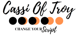 Cassi Of Troy Logo Change Your Script
