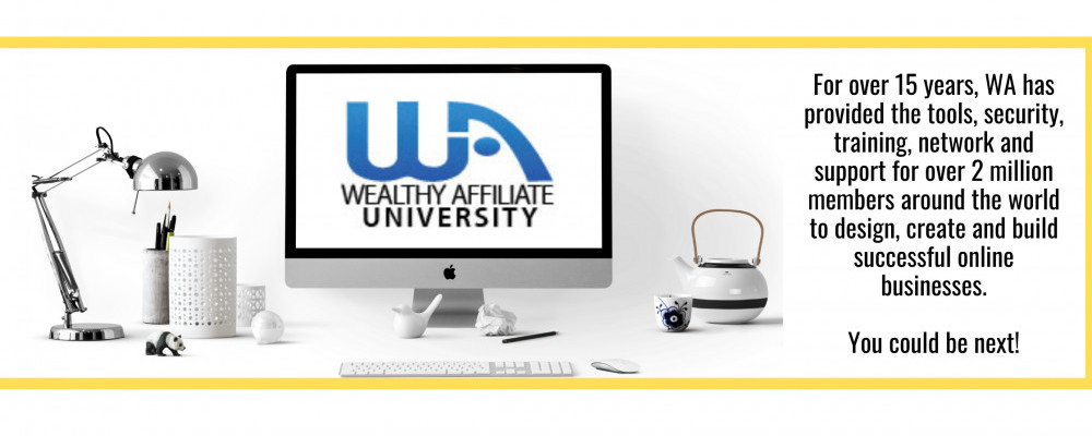 Banner for Wealthy Affiliate University