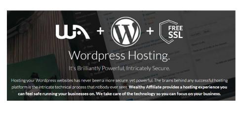 Wealthy Affiliate Website Hosting
