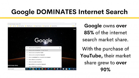 Google Dominates Internet Search - Cassi Of Troy