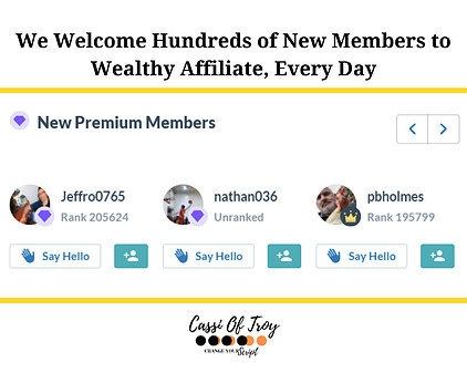 What Does The Rank on Wealthy Affiliate Mean - Cassi Of Troy